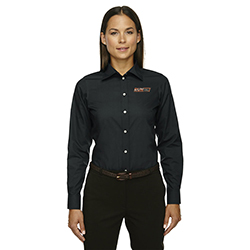 DEVON & JONES LADIES WOVEN SHIRT